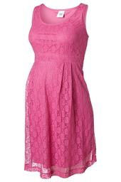 Mamalicious MlCia S/L Lace Dress mekko - Raspberry Rose - Mekot ja Haalarit - 510008547458 - 1
