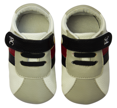 Rose et Chocolat MiniZ RunnerZ tossut - White Grey - Tossut - 6235477458 - 1