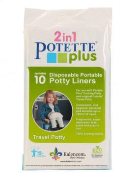 Potette plus hygieniapussit 10 kpl - Matkapotat ja lisävarusteet - 088161230139