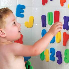 Munchkin kylpylelu kirjaimet ja numerot - Kylpylelut ja korit - 5019090111089 - 5