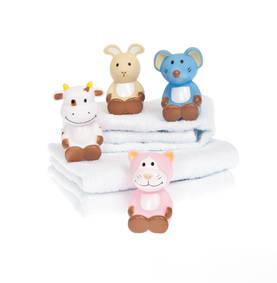Teddykompaniet kylpylelu 4 erilaista - Kylpylelut ja korit - 7331626090209 - 1