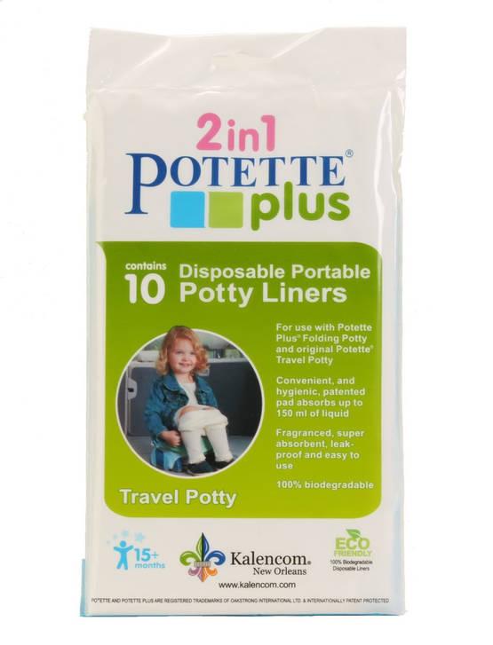 Potette plus hygieniapussit 10 kpl - Matkapotat ja lisävarusteet - 088161230139 - 1