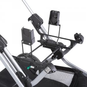 Teutonia Adapteri Maxi-Cosi, Cybex Aton - Adapterit yhdistelmävaunuihin - 04038685236809 - 1